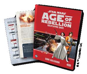 Star Wars Age of Rebellion Core RPG