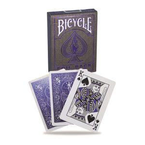 Bicycle Deck Metalluxe Blue