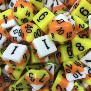 Ice Cream Dice – Candy Corn
