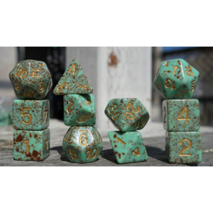 Ice Cream Dice – Mint Crit Gold