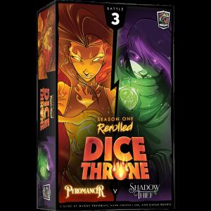 Dice Throne Season One Pyromancer vs Shadow Thief