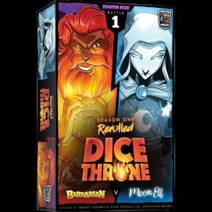 Dice Throne Season One Barbarian vs Moon Elf