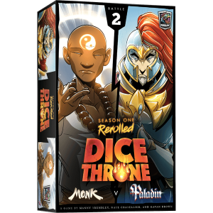 Dice Throne Season One Monk vs Paladin