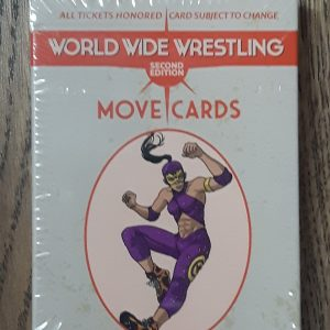 World Wide Wrestling: Second Edition Move Cards