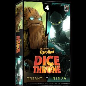 Dice Throne Season One Box 4 Treant vs Ninja