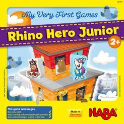 My Very First Games: Rhino Hero Junior