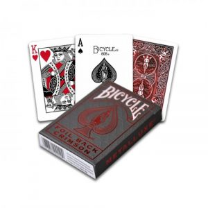 Bicycle Cards – Metalluxe Red